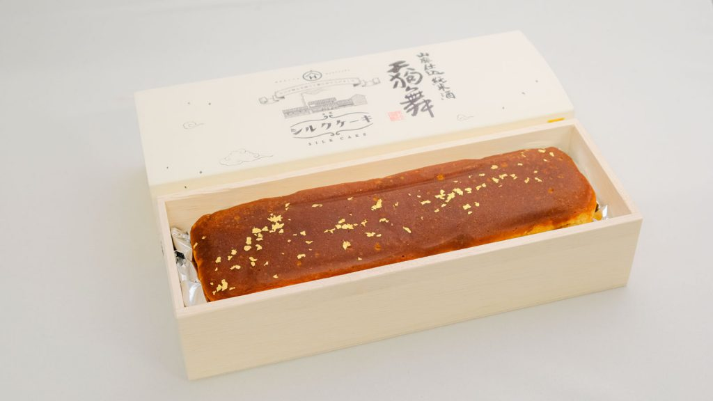 山廃仕込純米酒シルクケーキ