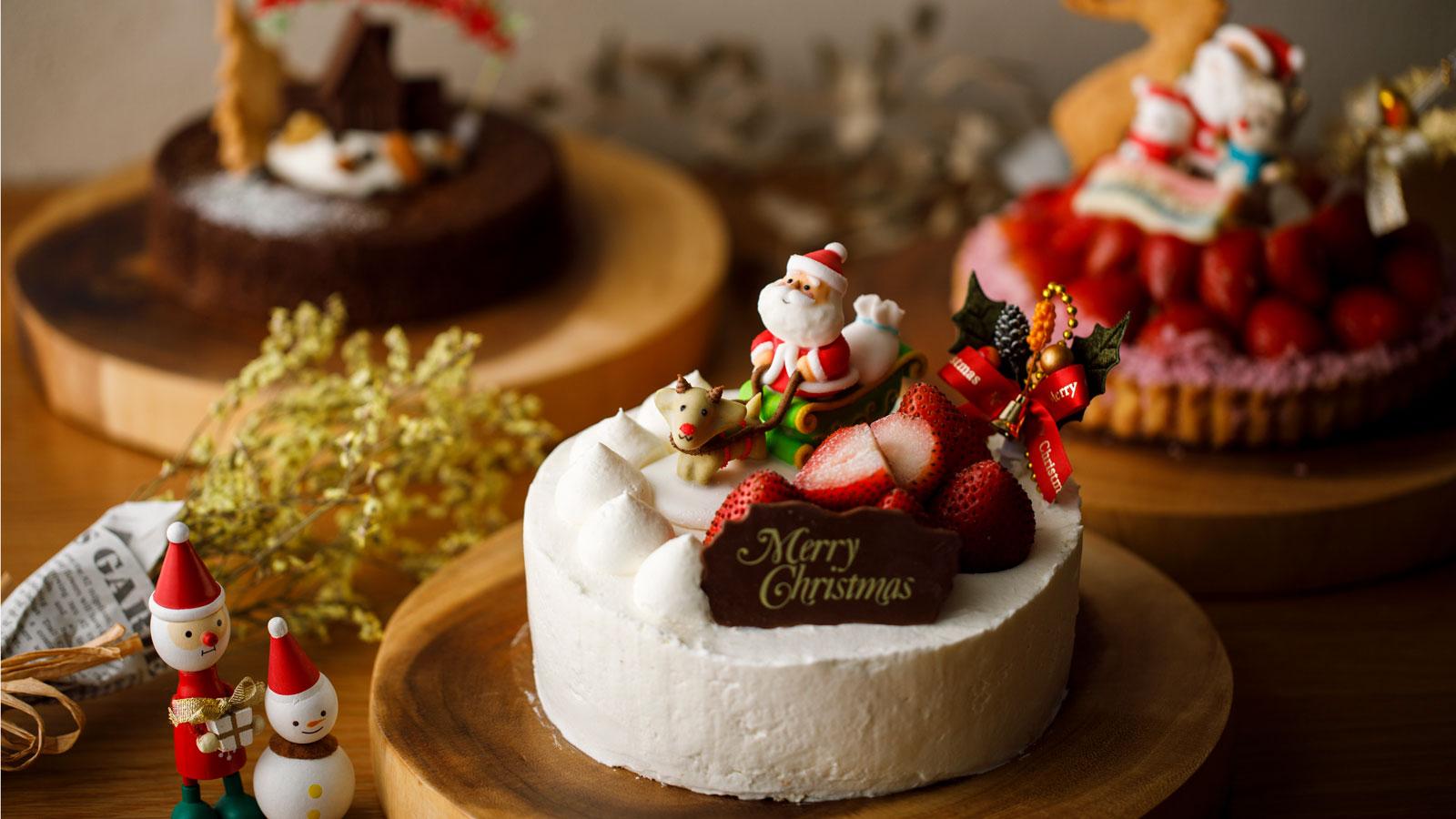 堀他のクリスマスケーキ2019