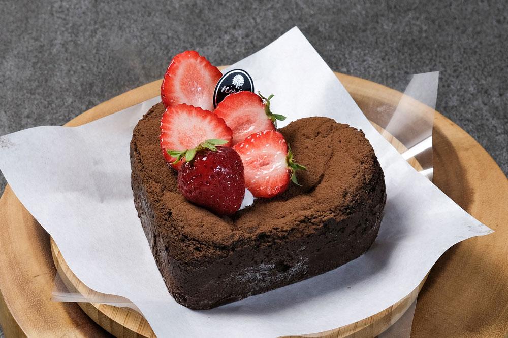 ♥型バレンタインショコラ