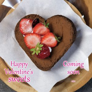 Horitaのバレンタインケーキ情報 Coming soon